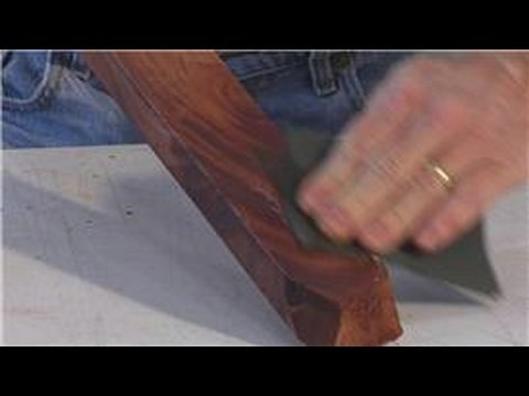 Woodworking : How to Apply Tung Oil to Wood