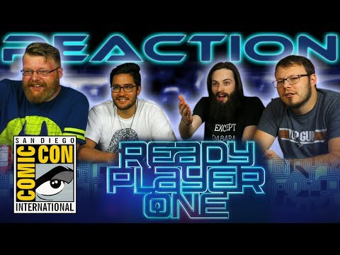Ready Player One Teaser REACTION!! SDCC 2017
