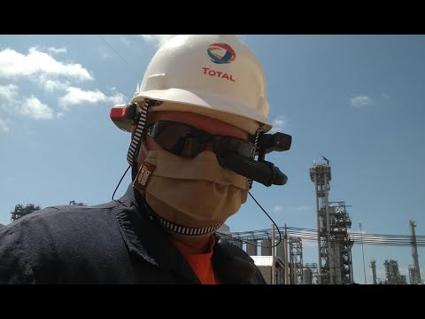 Total Deploys RealWear Intrinsically Safe HMT-1Z1s with Microsoft Teams for U.S. Plant Operators