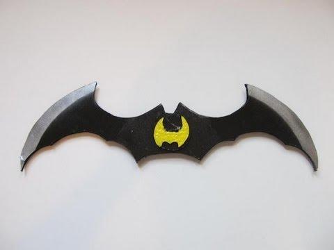 Make The Batarang From Batman