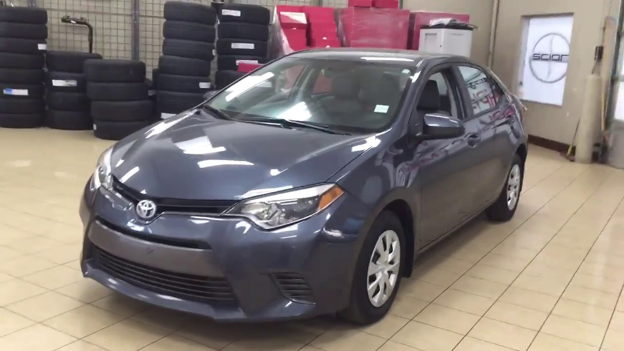 2016 Toyota Corolla Le Eco Review