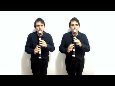 Anonymous - Boureé - for two alto recorders