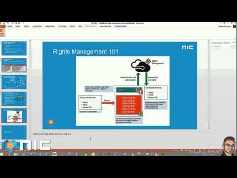NIC 4th Edition - Cloud based rights management with Azure RMS