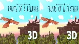 3D VR box TV video Fruits Of A Feather  Side by Side SBS google cardboard