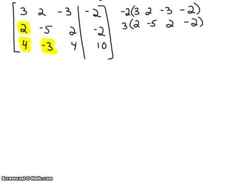 Solving Larger Systems of Equations