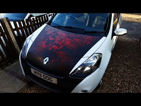 RED LION – Airbrush Spray Painting Car Art
