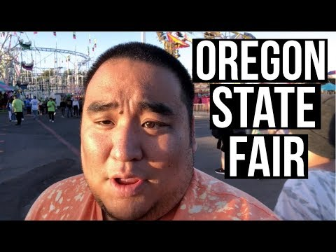 OREGON STATE FAIR . . . #Vlog #Oregon #Fair