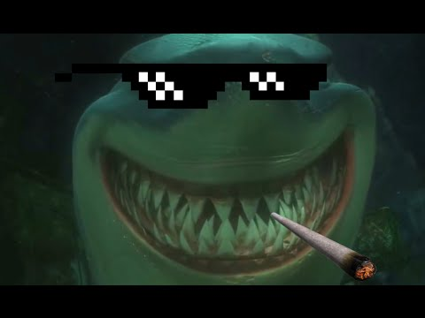 MLG Finding Nemo | Sharks - Fish Are Food, Not Friends | Bruce Smokes Weed | Finding Akhmed