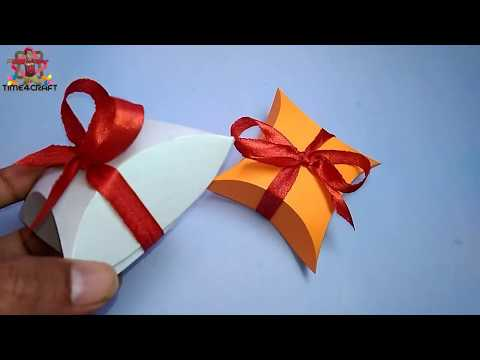 Cute Gift Box for New Year Gift Pack || CD Disk Makes Gift Box