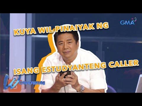 Download Wowowin: Kuya Wil, naluha sa katapatan at kabaitan ng isang caller