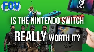 Is the Nintendo Switch Worth It? (Review) Zelda: Breath of the Wild, and Ghost Recon Wildlands News!