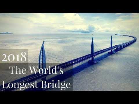 The Longest Bridge in the world 2018 - Hong Kong to Macau an