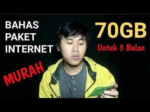 PAKET TRI KUOTA 70GB untuk 3 BULAN.. PAKET INTERNET MURAH RECOMMENDED 2017 - zoom s