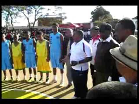 FINAL CHAMPIONNAT NATIONAL BASKET U16 à IHOSY - IHOROMBE