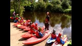 National Lottery Good Causes: Canoeing Ireland