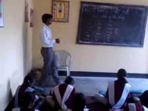 Teaching at KGBV by Manoj Kumar BTC Trainee batch 2012 DIET SONEBHADRA  2013 Nov 30 13 35 56