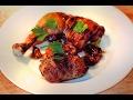 40 Clove Garlic Chicken with SMOKED GARLIC / version of classic French recipe
