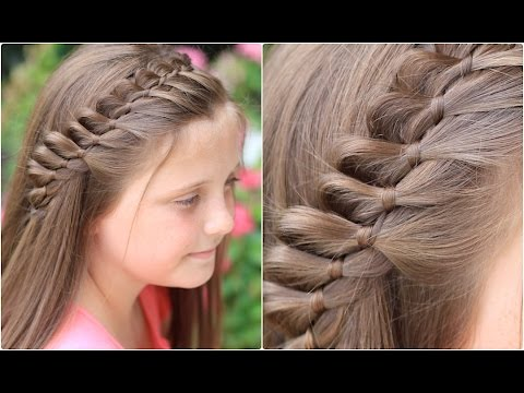 Hairstyle New Girl : Strand French Braid Pinback Cute Girls Hairstyles - YouTube