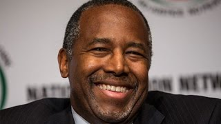 Ben Carson Reacts to His Lead in Iowa Polls