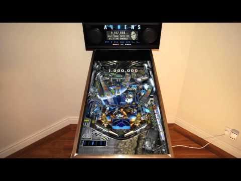 Zen Pinball - Aliens (Cabinet Support)
