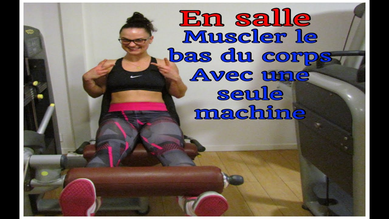 appareil musculation bas du corps