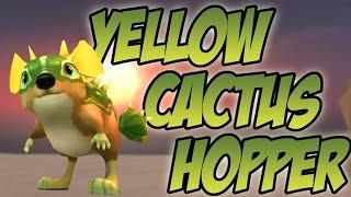 Wizard101: Yellow Cactus Hopper Pet Showcase