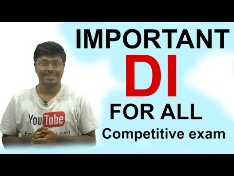 IBPS/RRB/SBI SO( Night class Day #40) Important  DI