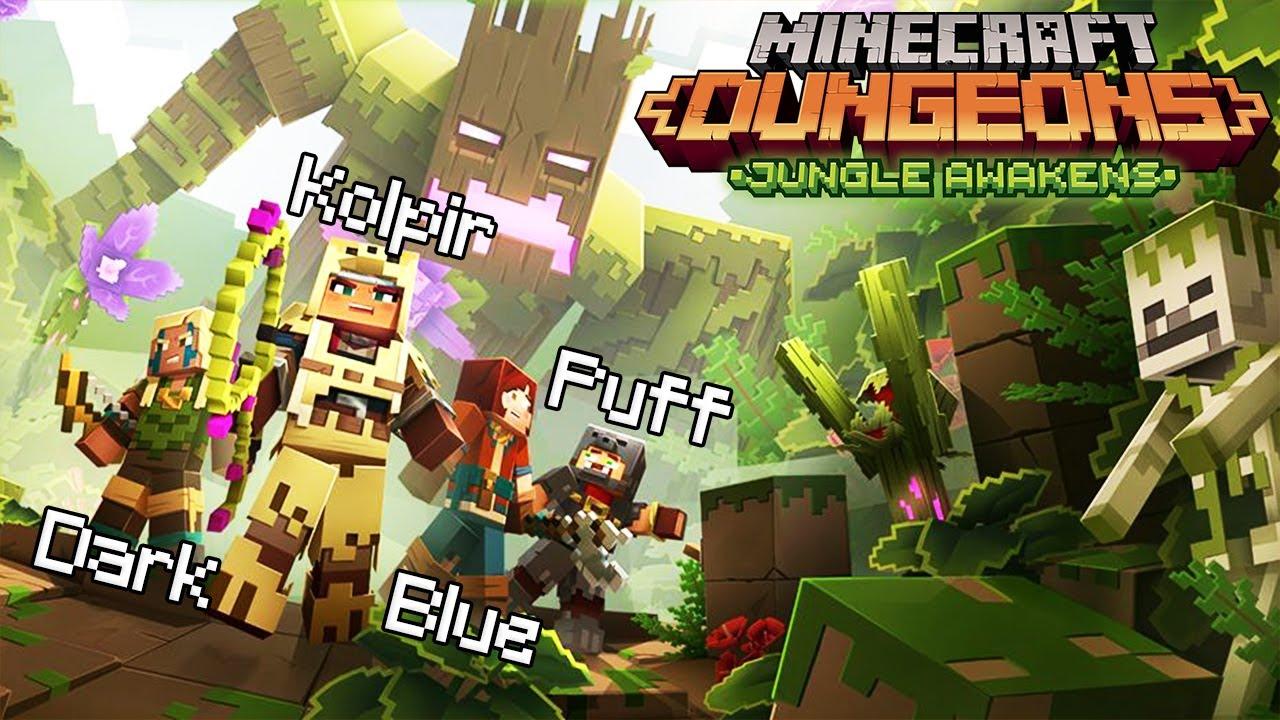 4 Haiduci in Minecraft Dungeons Jungle DLC!