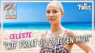 CELESTE REAGEERT OP GEDRAG LEVI! EX ON THE BEACH   MTV FIRST