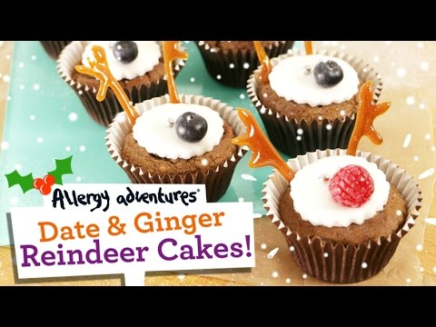 Reindeer Cakes Christmas Recipe Dairy Free Egg Free Gluten Free Soya Free And Nut Free