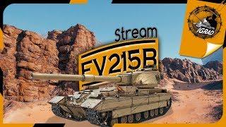 ● FV215b ● СТРИМ-ОБЗОР ● World of Tanks ● Редкость Рандома●