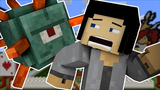 Attacked By The Guardian! | Minecraft Speed Builders