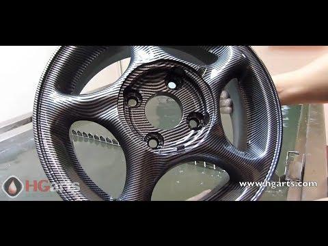 Water Transfer Printing - Hydrographics - Wassertransferdruck Carbon Fiber Wheel Rims (hgarts.com)