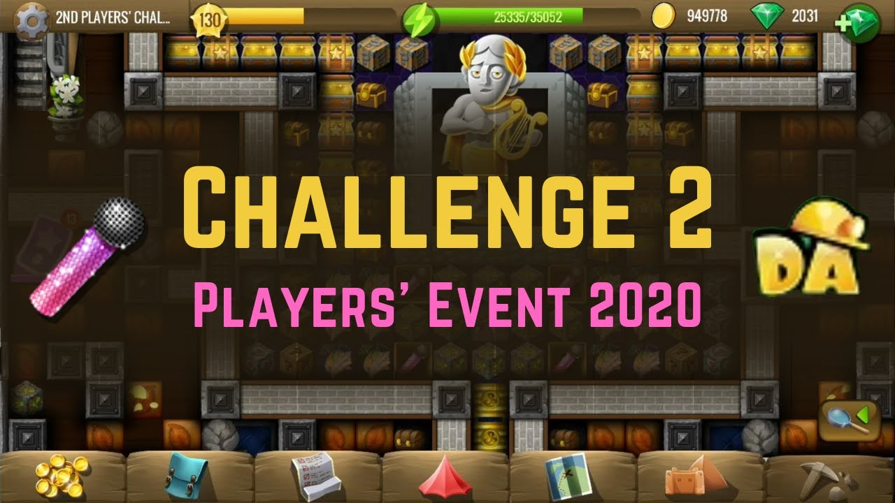 Challenge 2   Players' Event 2020   Diggy's Adventure   YouTube