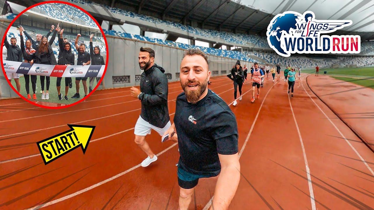 როგორ ირბინა 117კმ ჩემმა გუნდმა World Run ზე