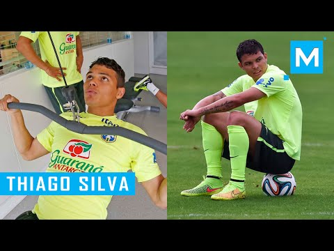 Thiago Silva Conditioning Training for Football (Soccer) | Muscle Madness
