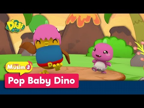 Didi & Friends | Lagu Baru Musim 3 | Pop Baby Dino