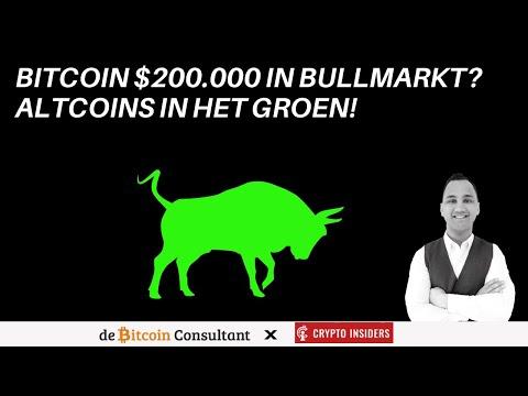 Bitcoin deze bullmarkt $200.000? | + Analyse BTC/ETH/ADA/BAT/FTM/POWR/VET