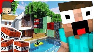 Hermitcraft 6 | Ep.7 : TNT MISSILE VS HOUSE!