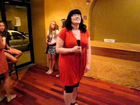 Weena sings Big Bottoms by Spinal Tap (Dr Thunder Karaoke 2011-08-17)