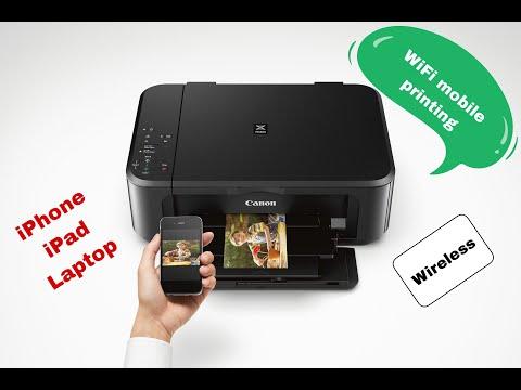 ربط الطابعة بالجوال والايباد عن طريق الواي فاي Connecting Your Iphone Or Ipad With Wifi Printer Youtube