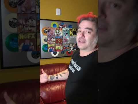 """Fat Mike announces NOFX 7"""" of the Month Club 2019"""