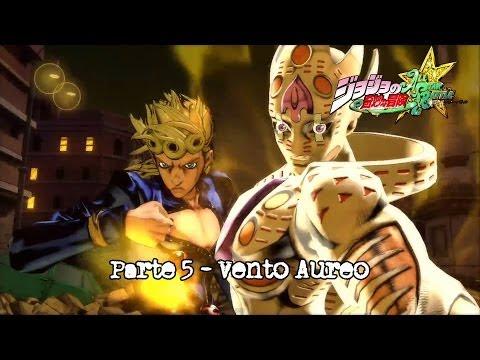 Jojo's Bizarre Adventure AllStars Battle - Parte 5 Vento Aureo