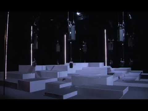 """Keiichiro Shibuya + Takashi Ikegami - """"filmachine"""" (Installation)"""