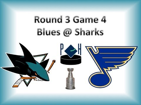 2019 Playoffs, Round 3 Game 4 Sharks @ Blues Review
