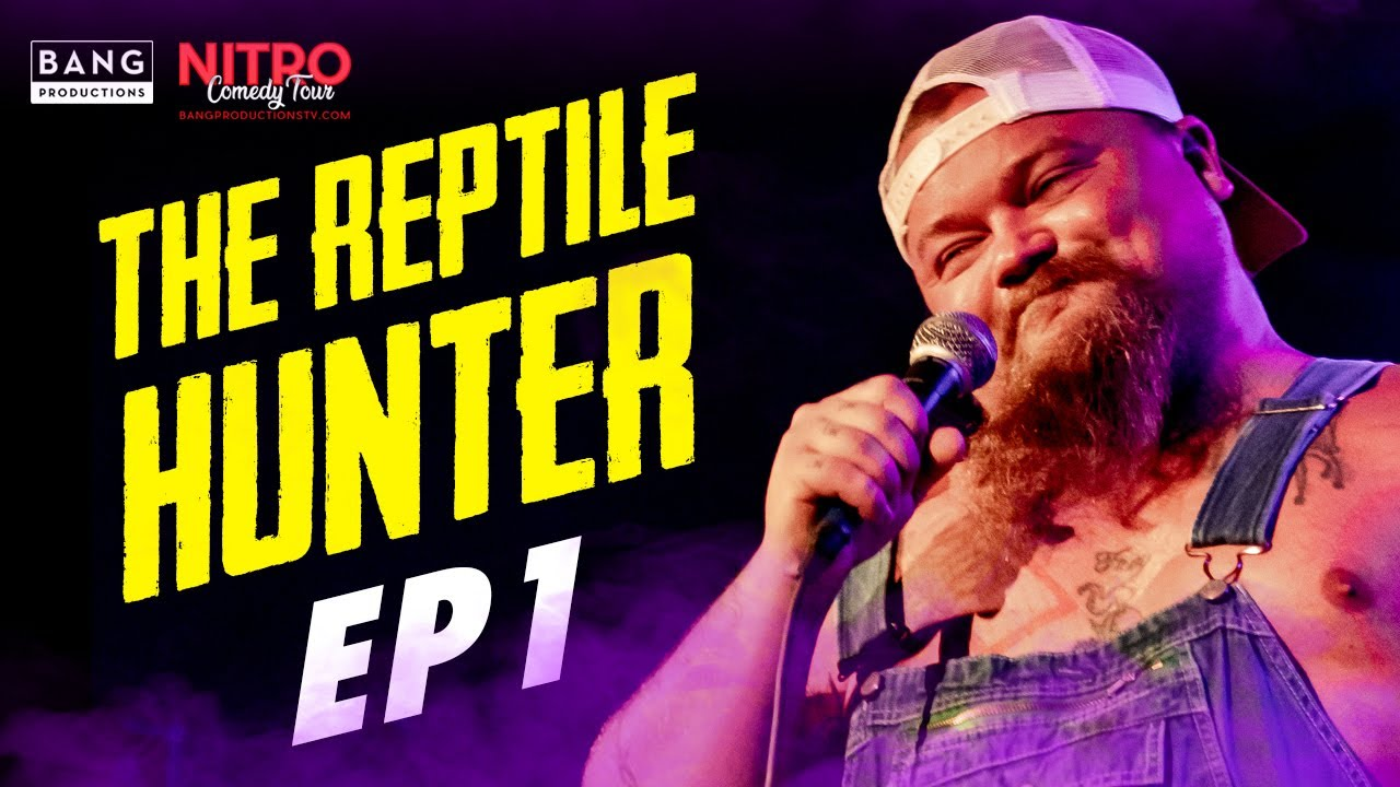 COMEDIAN CATFISH COOLEY: THE REPTILE HUNTER EP 1 - COMEDY FUNNY LAUGH ALLIGATORS REPTILES