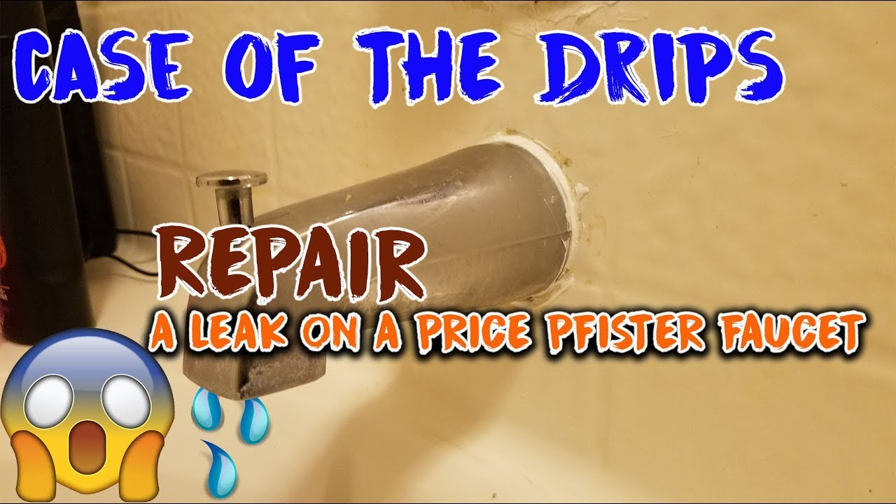 How to Repair a PRICE PFISTER Cartridge Avante for single handle ...