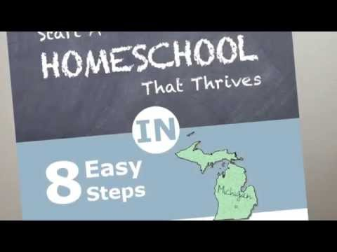 How to Homeschool in Michigan and Michigan Homeschool Laws