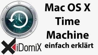 Mac OS X Time Machine Sicherung und Wiederherstellung ausführlich erklärt