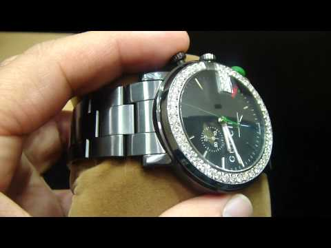 07d75c56e0a8 Mr Chris Da Jeweler Real Diamond Real Authentic Gucci Digital Watch